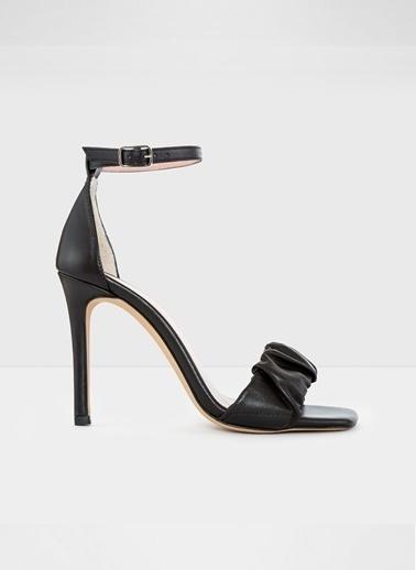 Aldo Roermond-Tr - Siyah Kadin Topuklu Sandalet Siyah